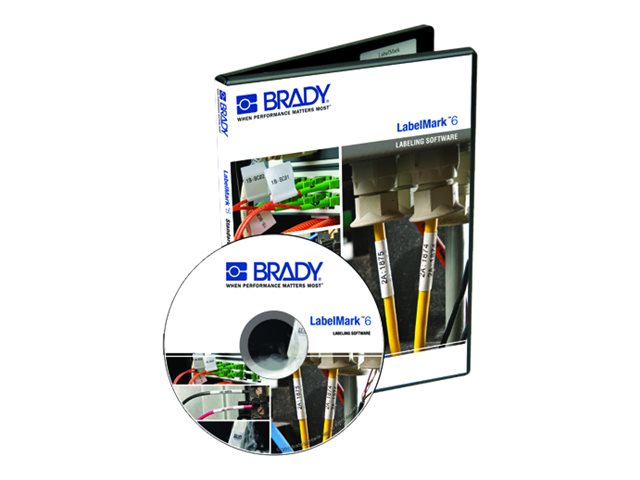Brady LabelMark Pro 6.0 e-Media, LM6PROCD, 18375863, Software - Labeling & Mailing List