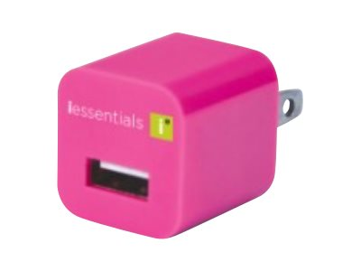 Digipower USB Travel Charger Pink, IE-ACPUSB-PK, 15477469, Battery Chargers