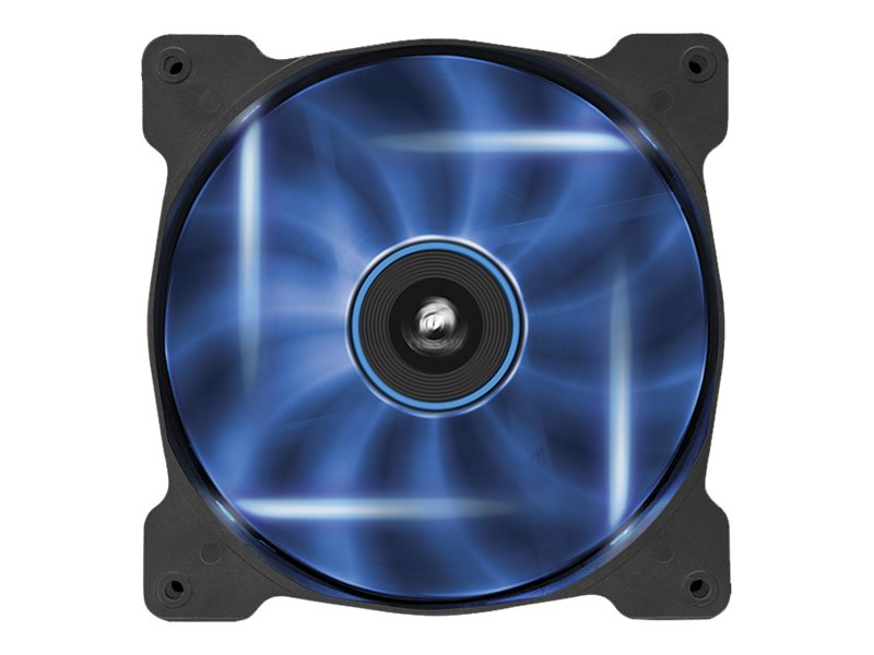 Corsair Air Series AF140 Case Fan Quiet Edition Blue LED, Single Pack, CO-9050017-BLED, 16375114, Cooling Systems/Fans