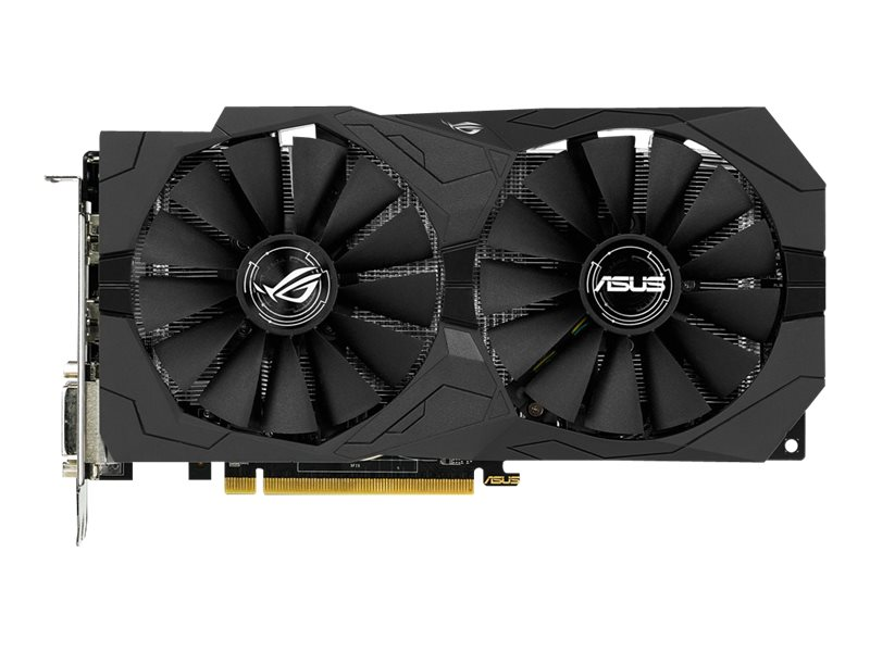 Asus Radeon RX 470 PCIe 3.0 Graphics Card, 4GB GDDR5, STRIX-RX470-4G-GAMING