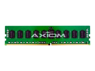 Axiom 8GB PC4-19200 288-pin DDR4 SDRAM RDIMM, AX42400R17Z/8G