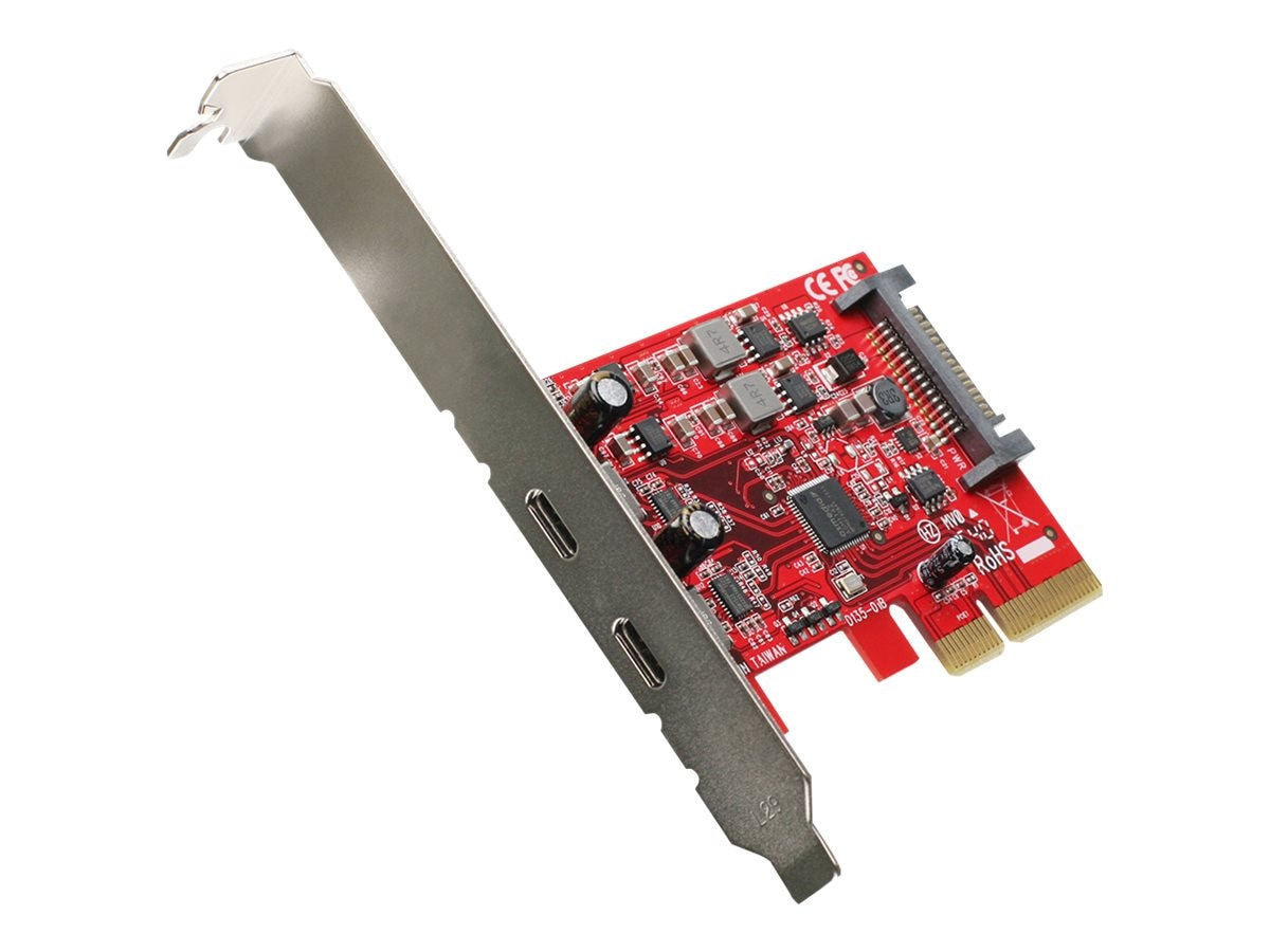 IOGEAR 2-Port SuperSpeed+ USB Type C (USB-C) PCIe Card, GIC3C2
