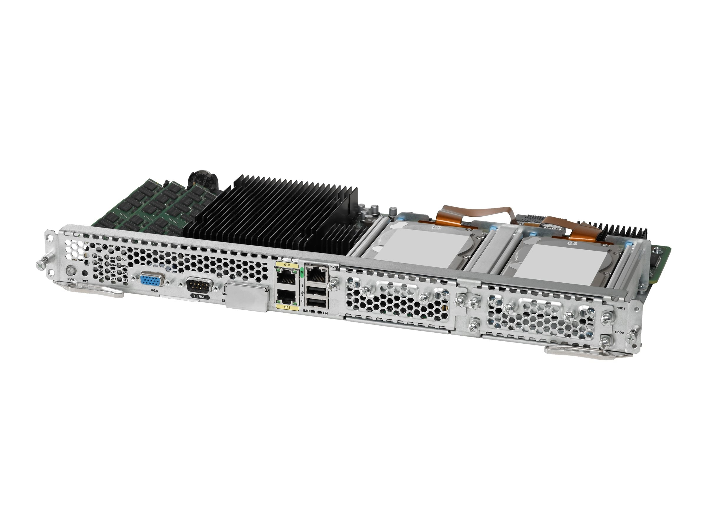 Cisco UCS E-Series Double-Wide Server Blades Xeon 6C E5-2400 v2 8GB RAM 2xSD Cards, UCS-E160D-M2/K9, 18532195, Servers - Blade