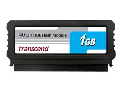 Transcend 1GB IDE Flash Module, TS1GDOM40V-S, 12628006, Memory - Flash