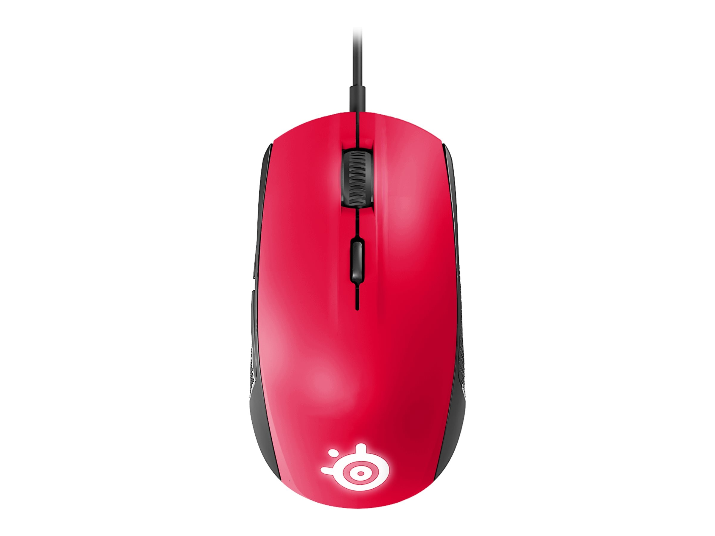 Steelseries Rival 100 Mouse, Forged Red