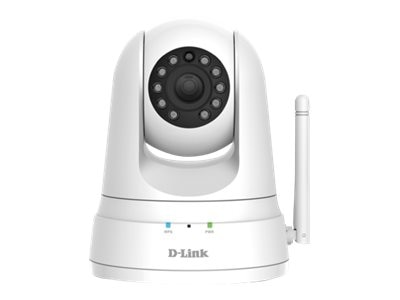 D-Link HD Pan and Tilt Wi-Fi Camera, White, DCS-5030L