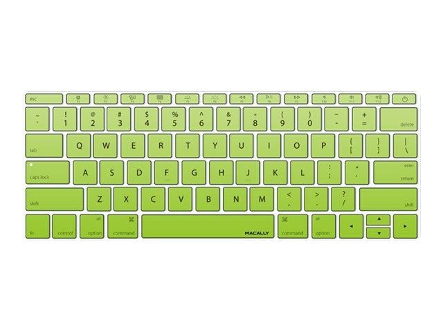 Macally Keyboard Cover, Green, KBGUARDMBGNG, 26135270, Protective & Dust Covers
