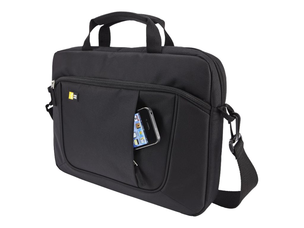 Case Logic Slim Case for iPad and 14.1 Laptop, Black, AUA-314BLACK, 14965073, Carrying Cases - Notebook