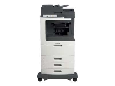 Lexmark MX812dtpe Monochrome Laser Multifunction Printer, 24T7437