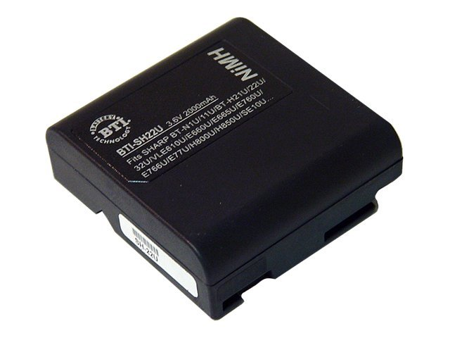 BTI Battery, NiMH, 3.6V, 5600mAh, for Sharp VL-AH30U, VLA10U, VL-AH50U, VL-E33, More, SH22U, 7926543, Batteries - Camera