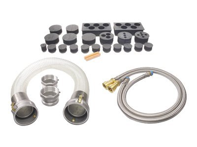 APC High-Density Cooling Bottom Hose Kit, ARACBH1, 5857038, Rack Cooling Systems