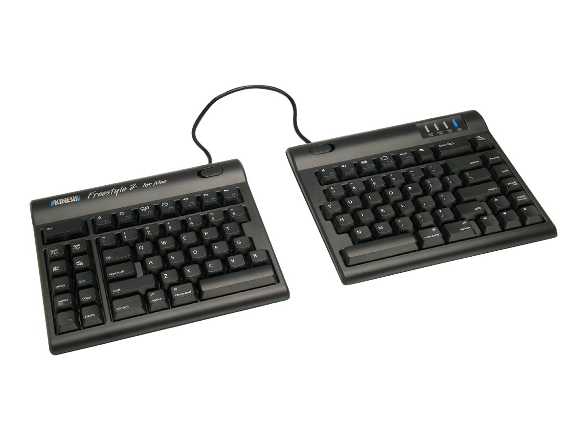 Kinesis Freestyle2 Keyboard for Mac, KB800HMB-US, 14998861, Keyboards & Keypads