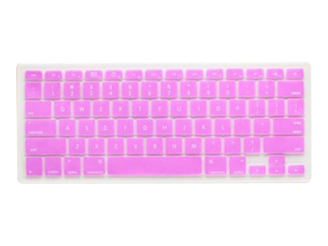V7 Silicone Keyboard Cover, Purple, MB1357PUR, 12756243, Protective & Dust Covers