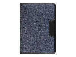 Aluratek Universal Tablet Folio Case Stand 7 w  Multiple Viewing Angles, Denim, AUTC07FD, 31196341, Carrying Cases - Tablets & eReaders