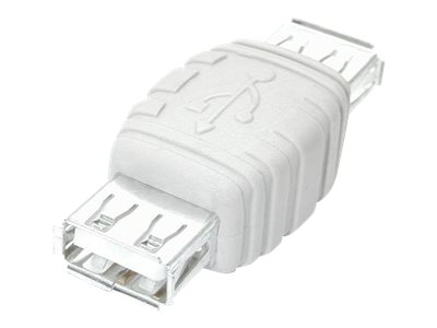 StarTech.com Gender Changer, USB A-Female to USB A-Female, GCUSBAAFF, 4859605, Adapters & Port Converters