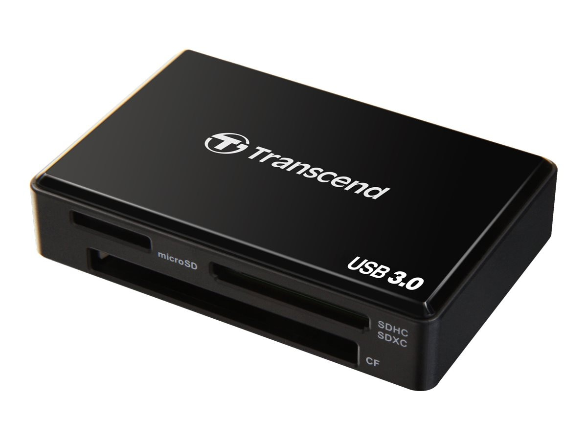 Transcend USB 3.0 All-In-One Multi Card Reader, TS-RDF8K, 16085310, PC Card/Flash Memory Readers