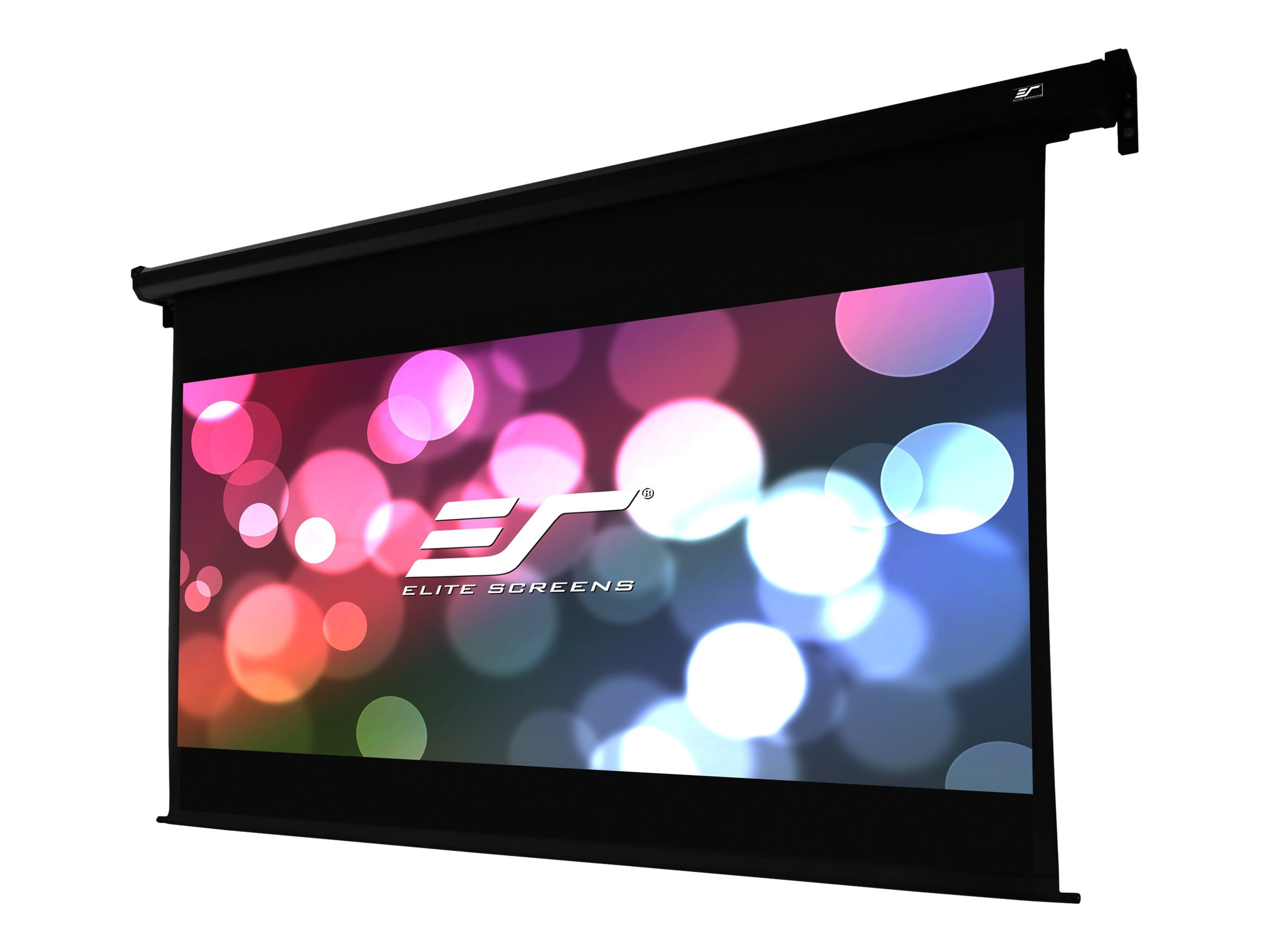 Elite VMAX Dual Projection Screens, MaxWhite, 16:9 2.35:1, 120 114, Black Case