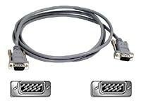 Belkin CGA EGA Monitor Cable DB9 Male Male 6 ft., F2N203-06, 140494, Cables