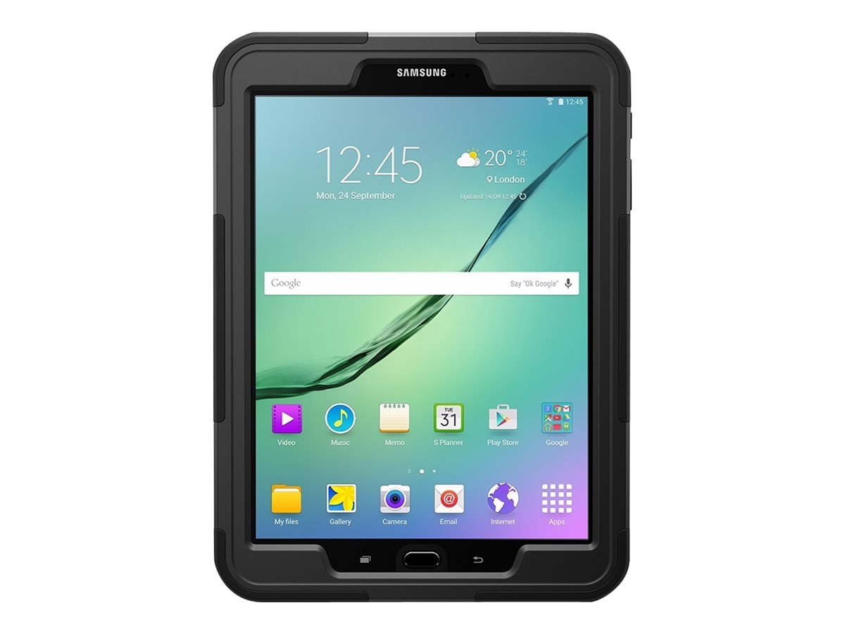Open Box Griffin Survivor Slim for Galaxy Tab S2 9.7, Black, GB42006, 31758084, Carrying Cases - Tablets & eReaders
