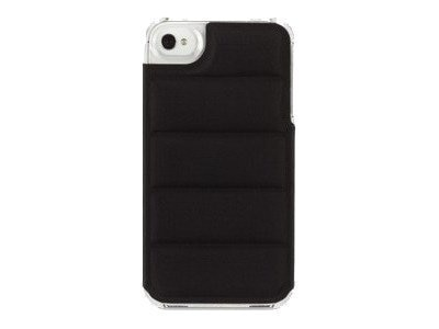 Griffin Elan Form Flight Case for iPhone 4, Black-Clear, GB03123, 13337147, Carrying Cases - Phones/PDAs