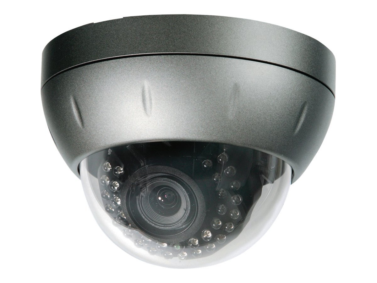 Speco Intense-IR Tamper Weather Resistant Color Day Night Dome Camera 2.8-12mm Varifocal Auto Iris Lens, CVC5835DNV, 13245429, Cameras - Security