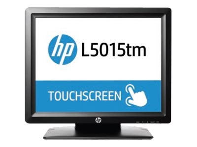 HP 15 L5015TM LED-LCD Touchscreen Commercial Monitor, Black, M1F94AA#ABA, 31889172, Monitors - LED-LCD