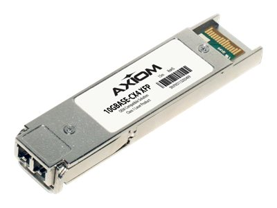 Axiom 10GBASE-CX4 XFP Transceiver for Enterasys, 10GBASECX4XF-AX, 30909741, Network Transceivers