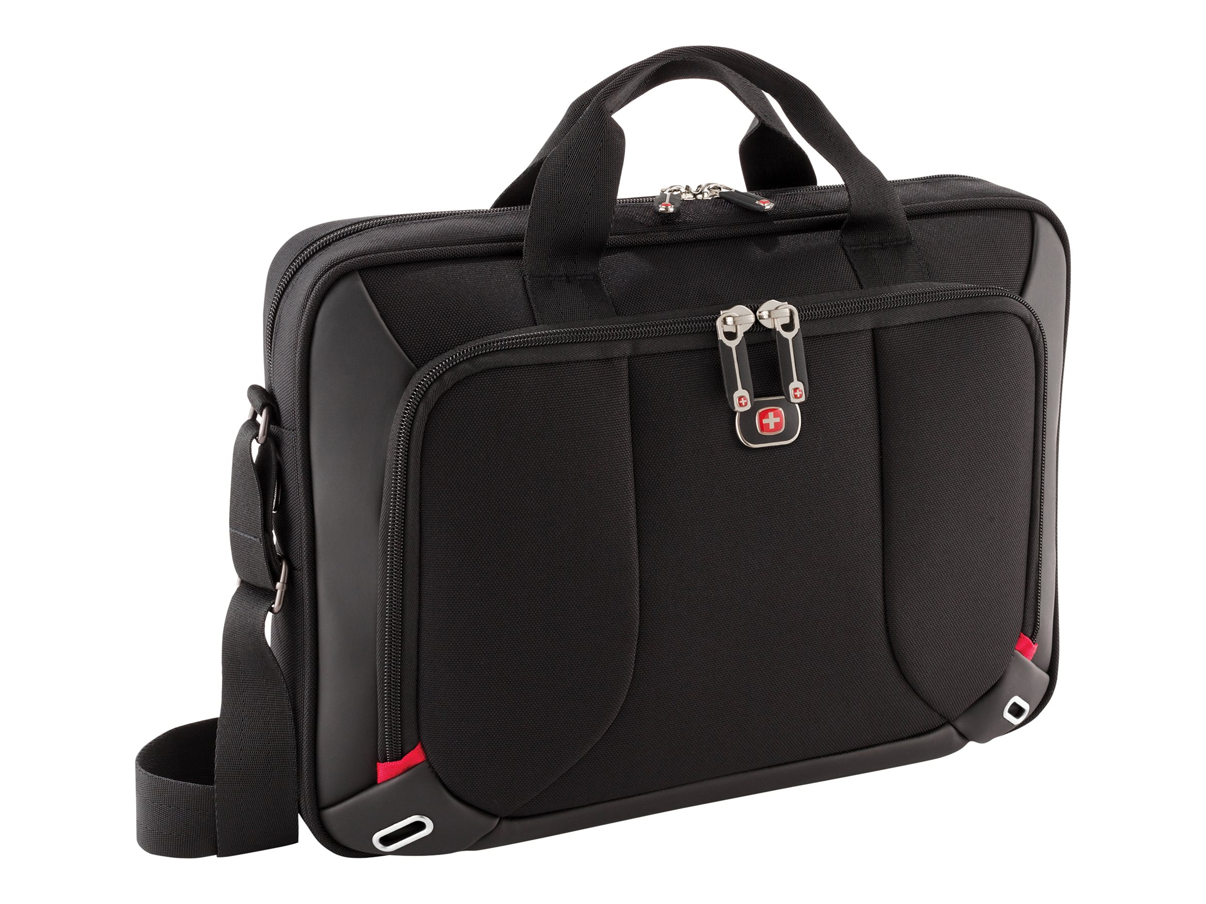 Wenger Platform Slimcase w  Tablet Pocket, Fits Up to 16 Laptop