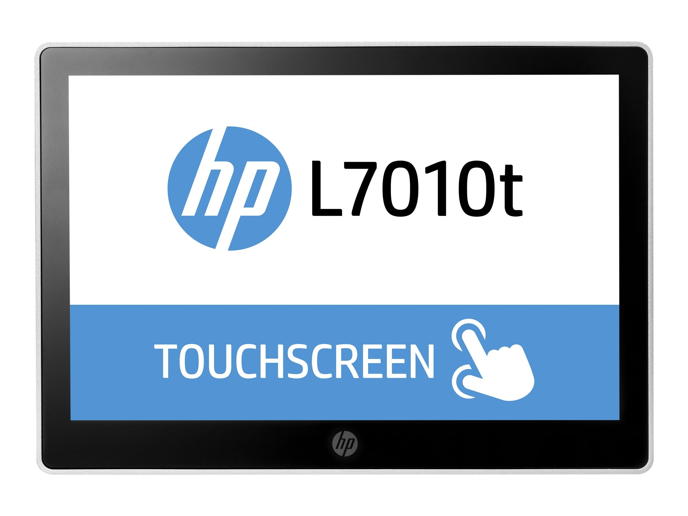 HP 10.1 L7010t LED-LCD Retail Touchscreen Monitor, Black