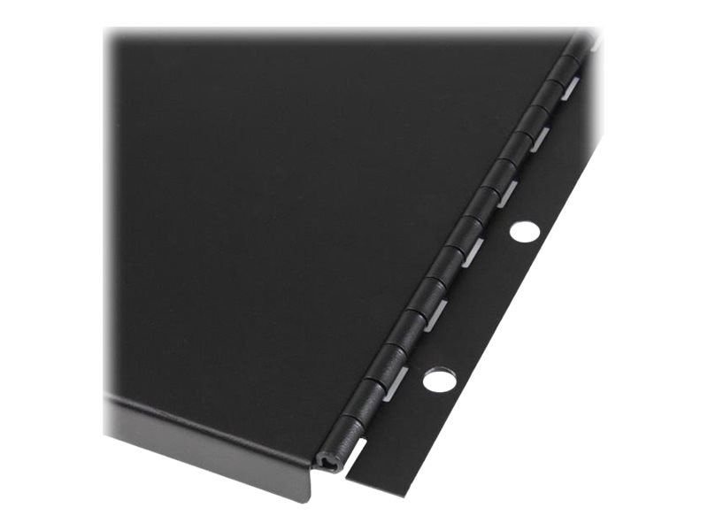 StarTech.com Solid Blank Panel w  Hinge for Server Racks, 6U, RKPNLHS6U