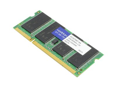 ACP-EP 1GB PC2-6400 200-pin DDR2 SDRAM SODIMM for Dell, A1167687-AA, 21815479, Memory
