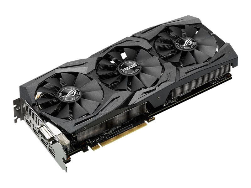 Asus GeForce GTX 1060 PCIe 3.0 Graphics Card, 6GB GDDR5, STRIX-GTX1060-6G-GAMING