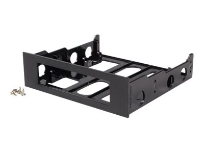 StarTech.com Adapter Bracket for 3.5 Floppy Drives w Bezel- Black, BRACKETFDBK