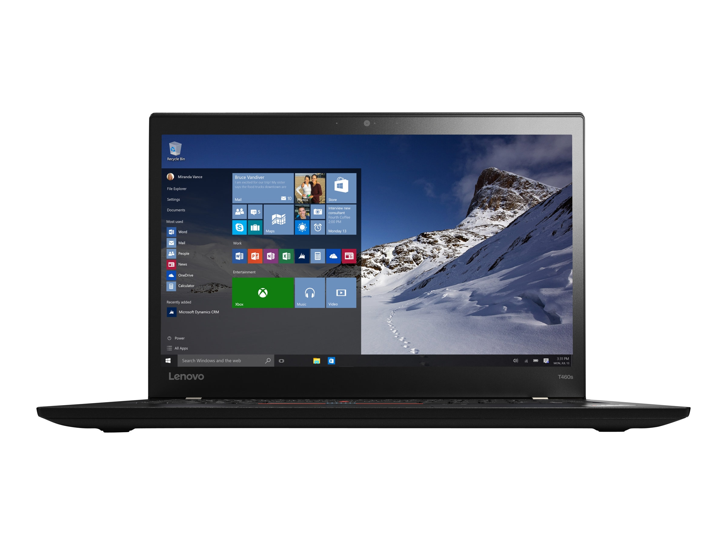Lenovo TopSeller ThinkPad T460s 2.4GHz Core i5 14in display, 20F9003GUS, 32561638, Notebooks
