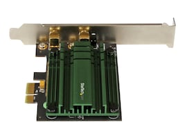 StarTech.com AC1200 Dual Band PCIe WiFi Adapter, PEX867WAC22, 17719370, Wireless Adapters & NICs
