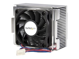 StarTech.com Aluminum Heatsink and High Airflow Fan Processor Cooler, FAN478, 272684, Cooling Systems/Fans