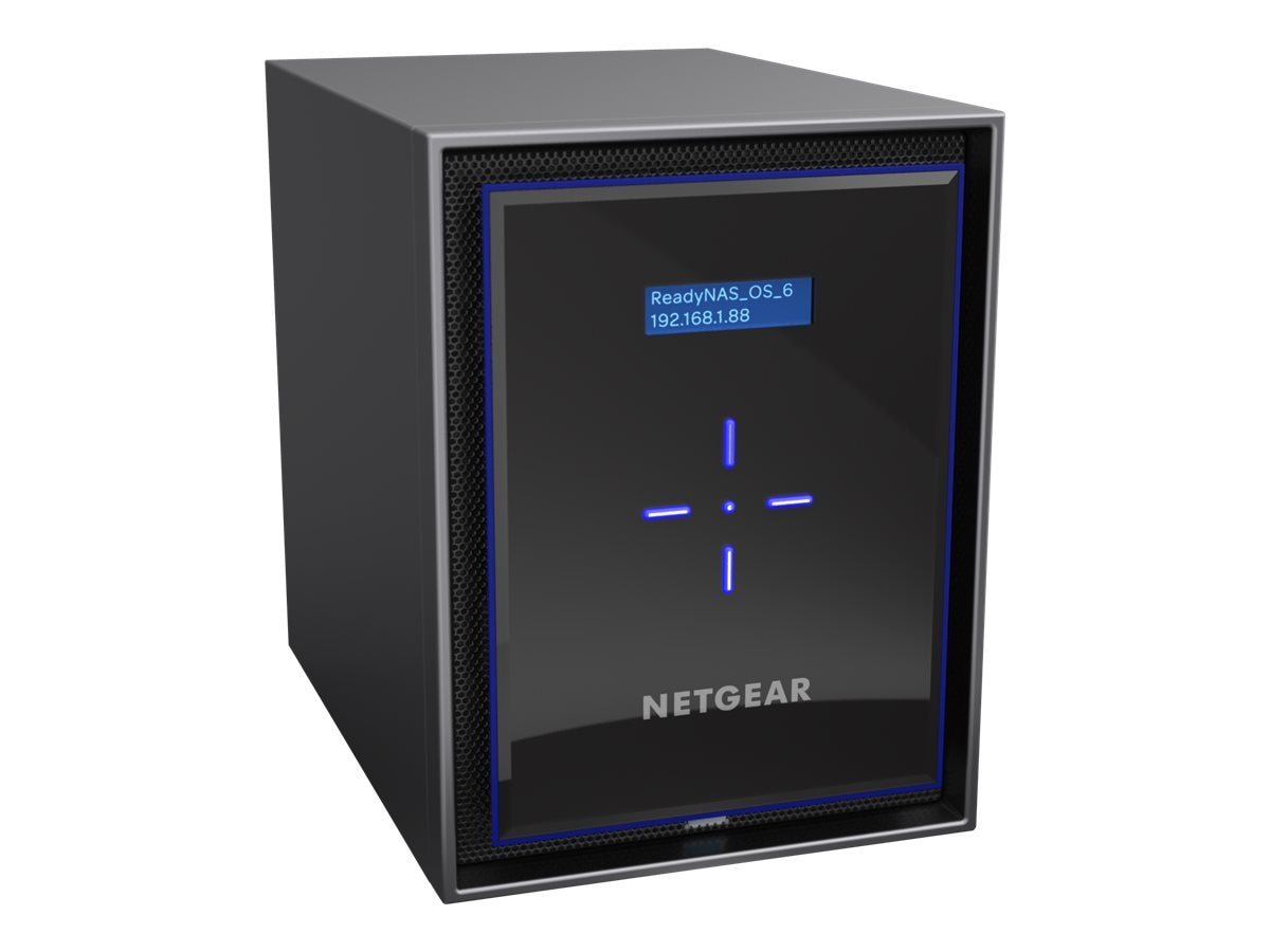 Netgear ReadyNAS 426 Storage w  6X2TB Desktop Hard Drives, RN426D2-100NES