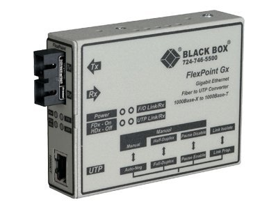 Black Box Flexpoint Modular Media Converters, Gigabit