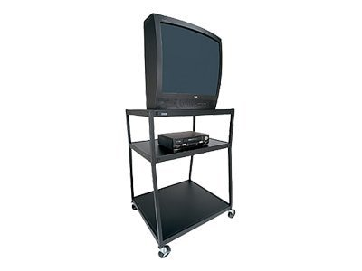 Bretford Manufacturing 27 Wide-Body TV Cart with ES-Unit, BB44-M4, 6915210, Computer Carts