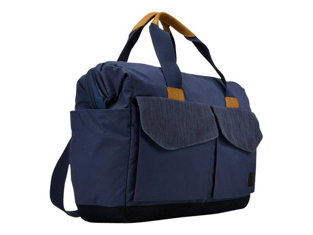 Case Logic LoDo 15 Laptop Satchel, Blue