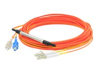 ACP-EP LC-SC 62.5 125 OM1 Duplex LSZH Mode Conditioning Cable, Orange, 3m, CAB-MCP-LC-3M-AO, 31065798, Cables