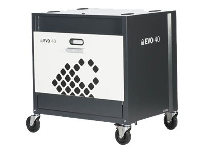 Lock N Charge EVO 40 Sync Charge Tablet Cart, LNC4000, 16634147, Computer Carts