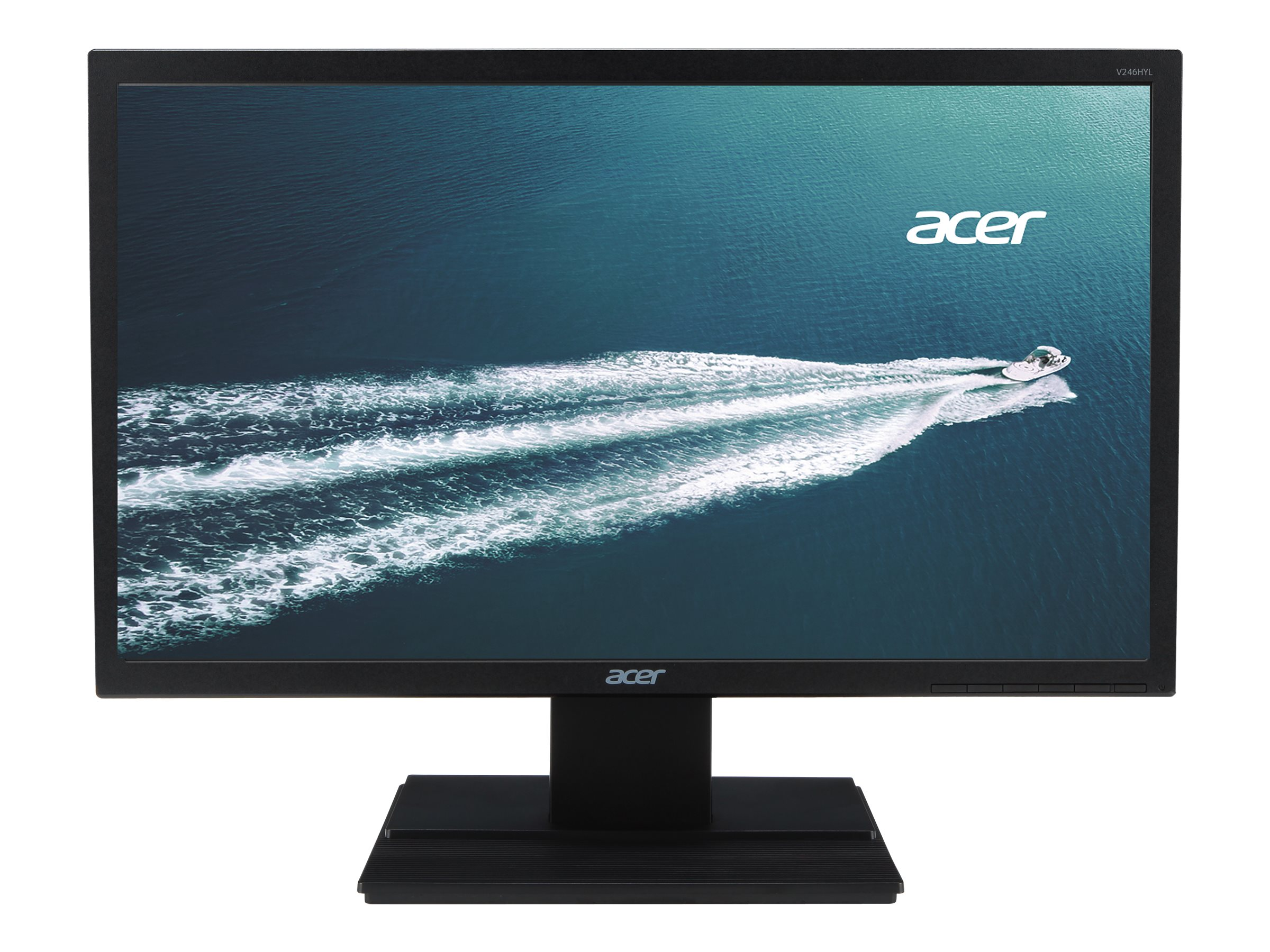 Acer 24 V246HL BMDP LED-LCD Monitor, Black, UM.FV6AA.004, 15482962, Monitors - LED-LCD