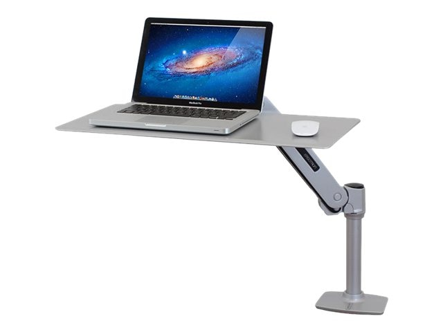Ergotron WorkFit-P, Sit-Stand Workstation, Platinum, 24-408-227, 16263227, Ergonomic Products