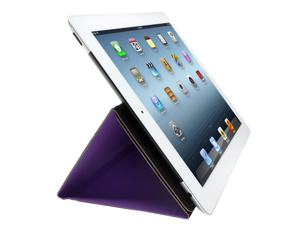 Kensington Folio Expert Cover Stand for iPad 4th gen & 3rd gen, Purple