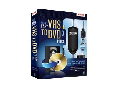 Roxio EASY VHS TO DVD 3 PLUS         CROM
