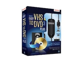 Roxio EASY VHS TO DVD 3 PLUS         CROM, 251000, 13628745, Software - Digital Conversion