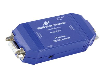 Quatech 9-Pin Single Supply RS-232 Optical Isolator