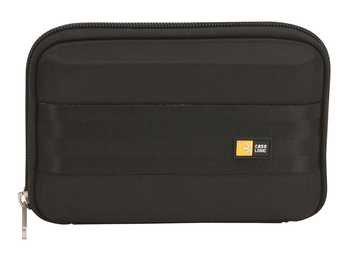 Case Logic GPS Case, Fits 5.3 Flat Display, Black, GPSP-6BLACK, 11601709, Carrying Cases - Other