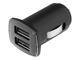 Aluratek Dual USB Auto Charger, AUCC03F, 33581569, Automobile/Airline Power Adapters